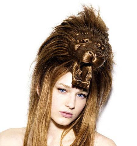 Coupe de cheveux femme très originale