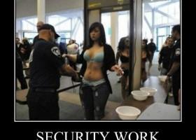 Faire la securite ca a du bon