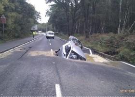 Pas de chance sur la route