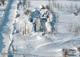 Quelques metres de neige