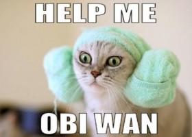 Aide moi obi wan !