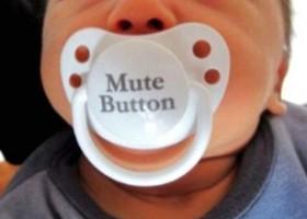 Bouton mute pour bebe