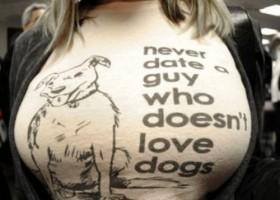 Je vais aimer les chiens