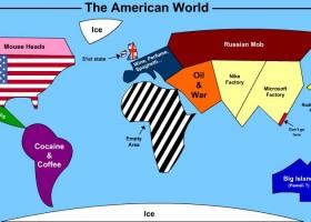 Le monde vu par les americains