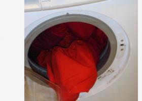 Machine a lavee malade