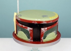 Gateau pour fan de star wars