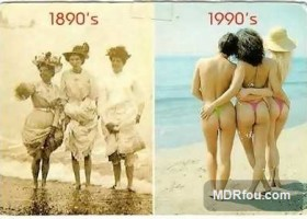 Rechauffement climatique a la plage