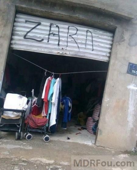 Nouveau magasin Zara