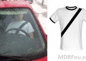 Le T-shirt de conduite