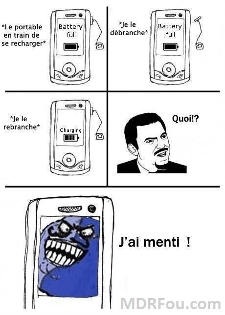 Le portable te troll