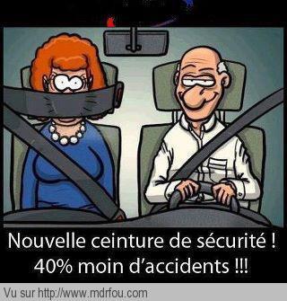 Nouvelle ceinture de sécurité