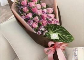 Qui a déjà reçu un bouquet comme celui là