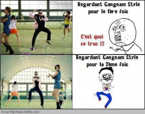 Regarder Gangnam Style