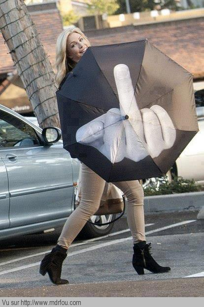 Sympa le parapluie