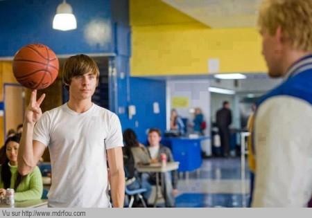 Toi aussi tu as déjà fait tourner le ballon de basket