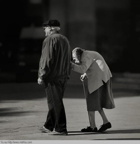 Un couple amoureux pour la vie