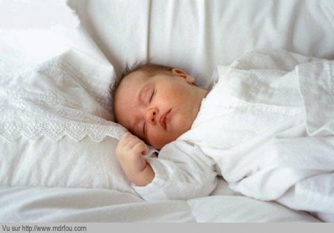 Une bonne sieste pour bien récupérer