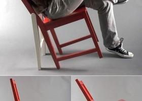 Bonne idée la chaise
