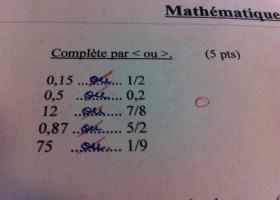 Cet élève a tout compris