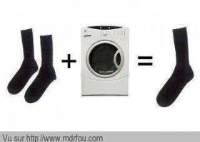 La magie de la machine à laver