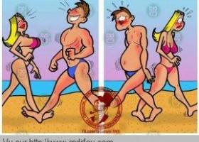 Les célibataires à la plage