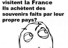 Les chinois et les souvenirs français