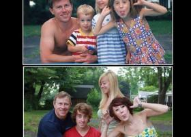 Photo remake 20 ans après