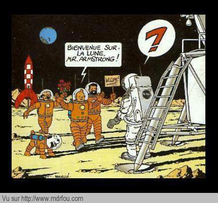 Quand on a march sur la lune mdr fou rire - Quand semer la mache avec la lune ...
