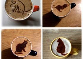 Quelques dessins dans le café