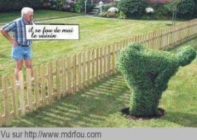 Un message pas très subliminal du voisin