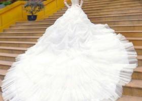 Wow ça c est de la robe de mariée