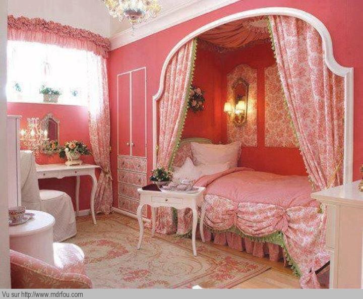 La photo de la chambre de ma fille mdr fou rire for La plus belle chambre de fille