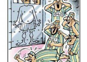 Ne pas mettre un dessinateur humoristique derrière les barreaux
