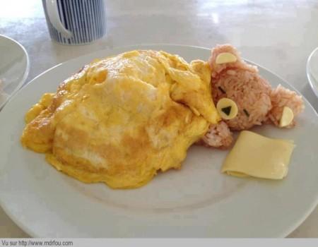 Une omette de nounours