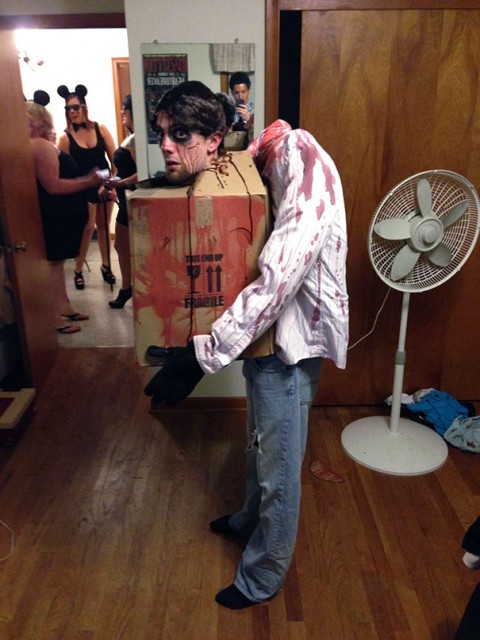 Costume pour soiree deguisee decapite