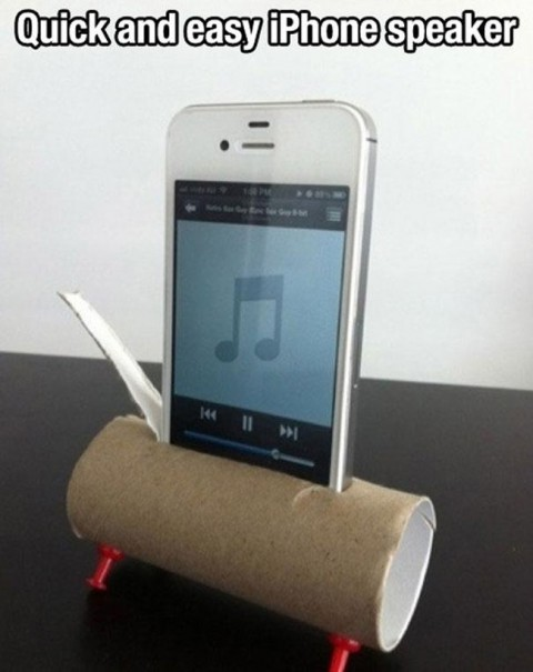 Haut parleur pour iphone systeme D