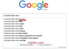 Recherche google - comment aller chez ... Jawad