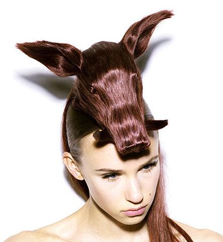 Coupe de cheveux original pour femme
